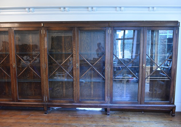 18 FOOT WIDE OAK DISPLAY CABINET-haes-antiques-18 FT WIDE HOS CABINET (20) FM_main_636459458343516787.JPG